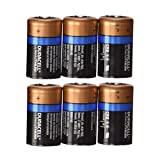 Duracell CR17355 Ultra Lithium Batterie CR2 (6-er Pack) schwarz/Kupfer