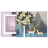 LCDY Elektro-Meter-Box Dekorative Malerei Kann Zeichnung Wohnzimmer Dreidimensional Einfach Wasserdichte Abschirmung Mit Hydraulischen Elektrischen Box Hängende Malerei