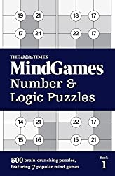 The Times Mind Games Number and Logic Puzzles Book 1 by The Times Mind Games (2016-10-06)