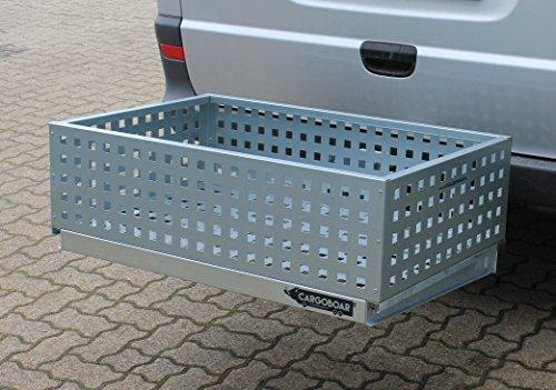 Palatino Exclusive Line CARGOBOAR Wildträger/Heckträger Premium Maxi mit Einhebel-Schnellverschluss | 90 x 60 x 25 cm