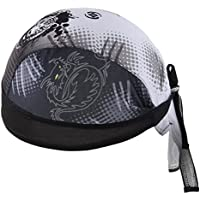 AHATECH Deportes Headwear Secado rápido Sol protección UV Ciclismo Bandana Running Gorro Bicicleta Motocicleta Casco de bajo de Calavera