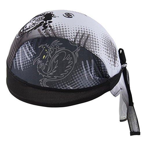Imagen de ahatech deportes headwear secado rápido sol protección uv ciclismo bandana running gorro bicicleta motocicleta casco de bajo de calavera