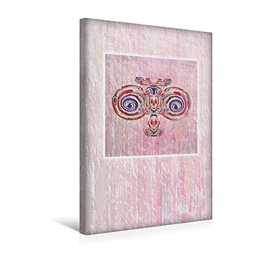 Calvendo Premium Textil-Leinwand 30 cm x 45 cm hoch, Ornament Jugendstil | Wandbild, Bild auf...