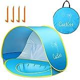 Ceekii Baby Strandzelt, Pop-up Baby Strand Zelt Portable Shade Pool UV-Schutz Sun Shelter für...