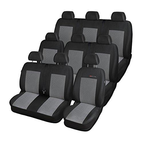 Elegance (E2) (maßgeschneidert) - Autoschonbezug-Set (9-Sitzer) - 5902538432184 - E2-schaum