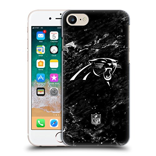 fizielle NFL Marmor 2017/18 Carolina Panthers Ruckseite Hülle für iPhone 7 / iPhone 8 ()