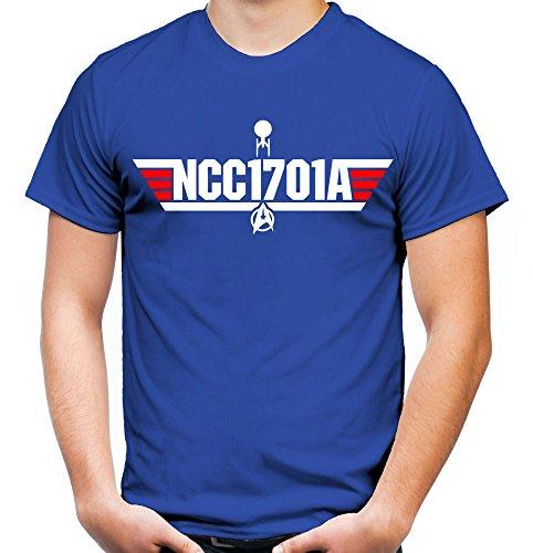 NCC1701A Männer und Herren T-Shirt | Spruch Enterprise Star Trek Geschenk (XXL, (Star Größe Plus Trek Kostüme)
