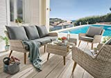Destiny Sitzgruppe Cortez Loungegruppe Loungeset Sofaset Lounge Möbelset