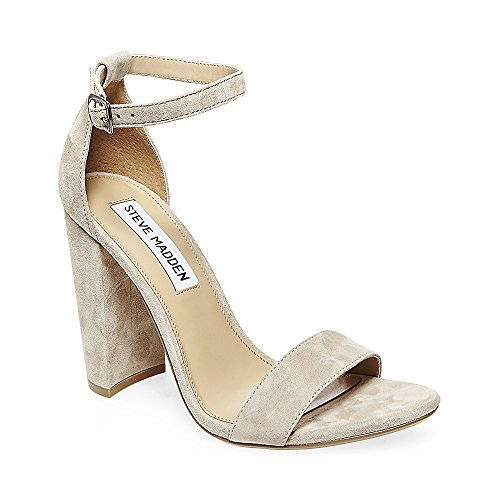 Steve Madden Women's Carrson Taupe Suede 415 11 US