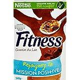 Nestlé Fitness Chocolat au lait - Céréales du Petit Déjeuner - Paquet de 540 g - Lot de 4