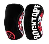 RockTape Genouillères Lot de 2 Manchons de Compression en néoprène de Compression Extra Long pour Soutien VMO, Assassins S Assassins - Red