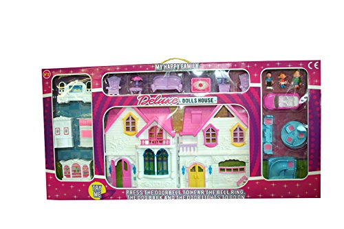 A bis Z 31062My Happy Family Deluxe Puppenhaus (Deluxe Hund Tür)