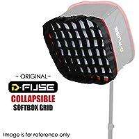 Kamerar Grille pour D-fuse Df-1l Grand panneau de lumière LED à lumière: pliable, portable, boîte à lumière, grille, Studio photo camera vidéo
