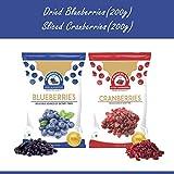 Best Blueberries - Wonderland Sliced Berries Combo Pack - Dried Cranberries Review