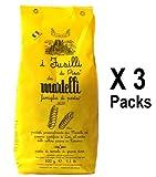 FUSILLI PASTA von Martelli 3er PACK (3 x 500g) Handgemacht - Gourmet Pasta aus Toskana - Italienische Spezialitäten (Nudeln)