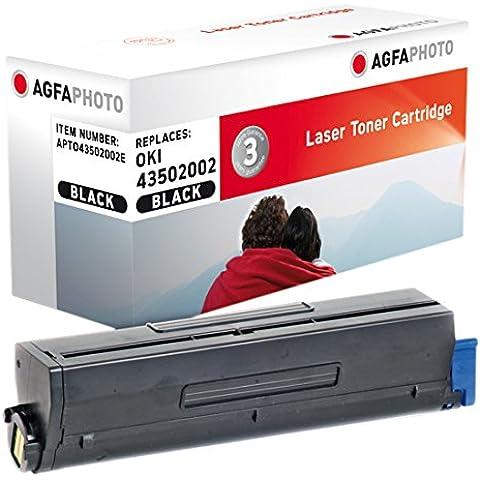 AgfaPhoto Toner Black Pages 7.000 / 185g, APTO43502002E (Pages 7.000 / 185g Replaces B 4600)