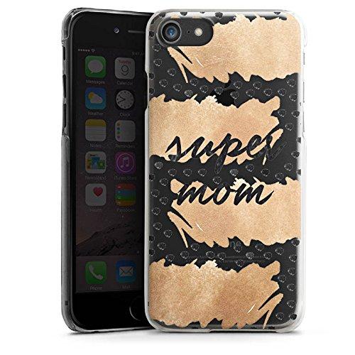 Apple iPhone X Silikon Hülle Case Schutzhülle Spruch ohne Hintergrund Muttertag Mama Hard Case transparent