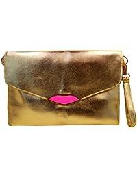 387c8abba8 Meliya Womens Oversized Clutch Bag Purse Pu Leather Evening Wristlet Handbag