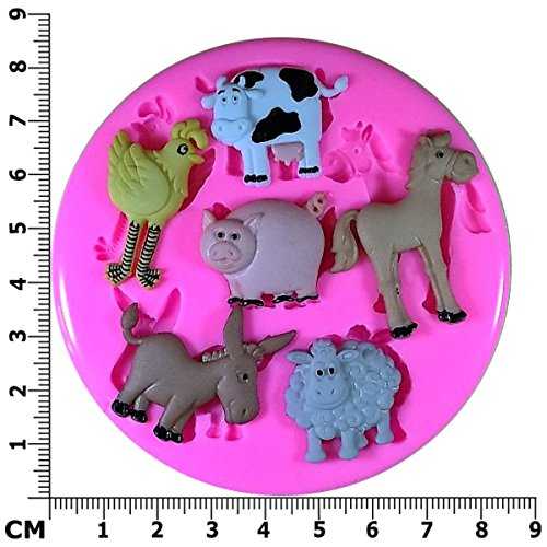 bauernhof-hoftier-schwein-schaf-pony-kuh-esel-silikon-form-fur-kuchen-dekorieren-kuchen-kleiner-kuch