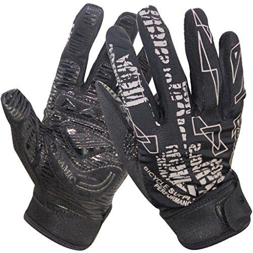 CN Bergsteigerhandschuhe Sommersonne Handschuhe Rutschfeste Reithandschuhe Unisex,Black,XL (Xl-antistatik-handschuhe)