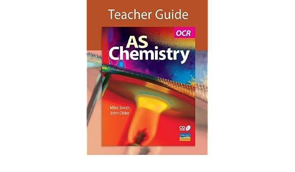 Buy Ocr As Chemistry Teacher Guide Cd Gcse Photocopiable