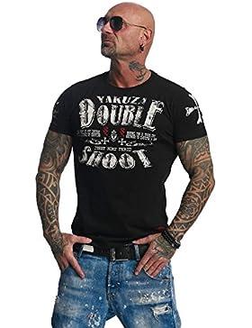Yakuza - Camiseta - Cuello redondo - Manga corta - para hombre