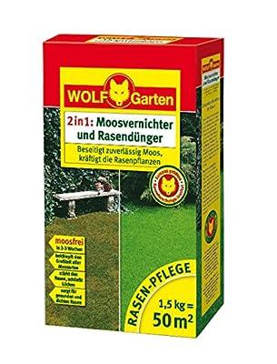 WOLF-Garten Moosvernichter und Rasendünger LW 50; 3844010 von WOLF-Garten - Du und dein Garten