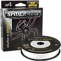 Spiderwire dura-4 SEDAL TRENZADO 300m translúcido 20lb / 9.1kg kg 0.10mm