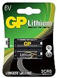 GP Batteries Lithium Batterie (2CR5, 6 Volt)