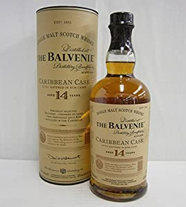 Balvenie 14 Year Old Caribbean Cask in Gift Tube 70cl by Balvenie