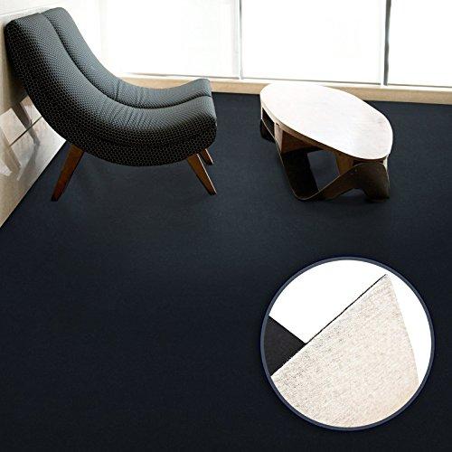 Floori Premium Nadelfilz Teppich, GUT-Siegel, emissions- und geruchsfrei, wasserabweisend, 1200 g/qm   Größe wählbar (200x200cm)