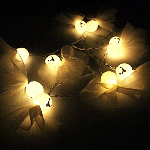 Pumpkin string luci a led, funzionamento a batteria, fai da te decorazione per halloween, decorazione wedding, patio, giardino