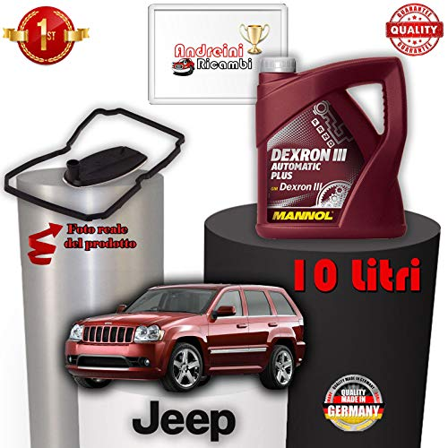 TAGLIANDO CAMBIO AUTO E OLIO CHEROKEE III 3.0 CRD 160KW 2007 -> 2010 1015