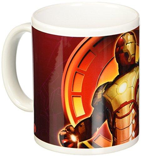 (Semic Distribution smug042–Einrichtung und Dekoration–Tasse–Iron Man 3–Mark XLII Flying)