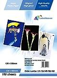 LabelOcean -Carta fotografica 13x18 cm,Premium, alta lucentezza, 180 g, 100 fogli