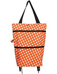 Y-BOA Caddy Chariot Course Pliable 2 Roues Sac à Main Shopping Durable Voyage (3#)