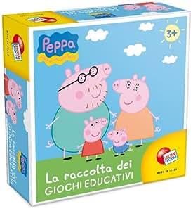 Liscianigiochi 40636 - Peppa Pig Raccolta di Giochi Educativi