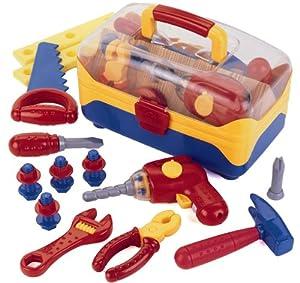 KLEIN Theo Maletín de herramientas de juguete, grande (8179)