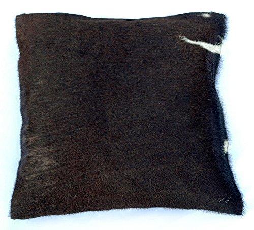 Natural Cowhide Luxurious Hair On Cushion/ Pillow Cover (15''x 15'') A540 (A540 Cover)