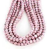 Rhodochrosit Perlen facettiert rund 8 mm