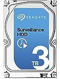 Seagate Surveillance HDD - 3 TB - interne Festplatte, ST3000VX002 (3,5 Zoll), 64 MB Cache, SATA III für den Überwachungsbereich