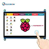 Monitor Display IPS Screen -7 Inch 1024X600 HD TFT LCD with Touch screen for Raspberry Pi B+/2B Raspberry Pi 3 Windows 10/8.1/8/7