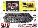 DID Kette 428 D, 106 Glieder (Standard), offen mit Clipschloss, 428DX106RB