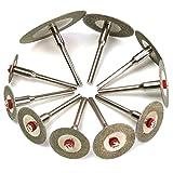 Strollway Pratico e conveniente Disco da taglio 10 pezzi Disco da taglio diamantato Set Mini trapani Utensili rotanti tagliati