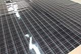 Jacky Stoffmuster MATT/GLANZ von Finest-Folia Car Wrapping Luftkanalfolie GTI Look Folie Karo (50x140 cm Glanz)