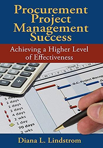 Procurement Project Management Success: Achieving a Higher Level of Effectiveness