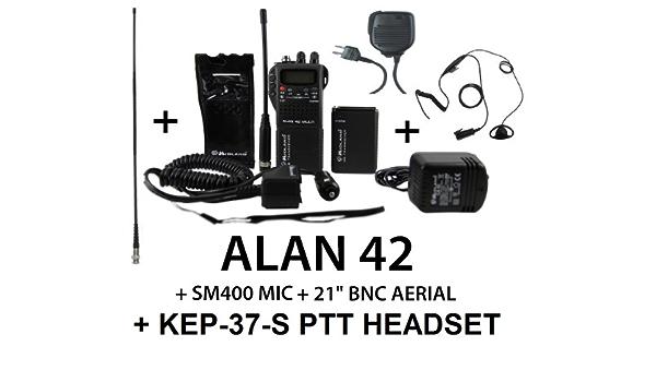Midland Alan 42 Handheld Bundle 53 3 Cm Bnc Peitsche Elektronik