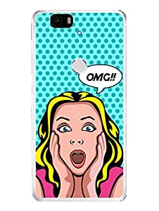 Nexus 6P Cases & Covers - OMG - Are you serious? - Gossip Girl - Designer Printed Hard Case with Transparent Sides