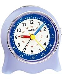 Vedette VR10002 - Reloj analógico infantil de cuarzo con correa de piel blanca