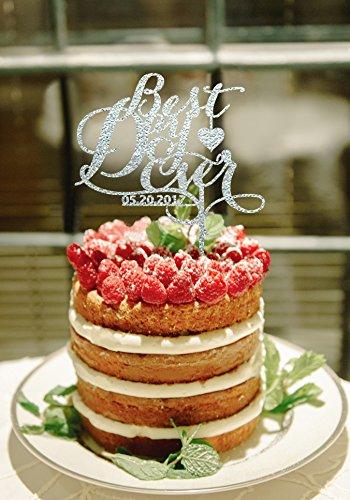 Beat Tag Vintage Party Supplies Letter Modische Silhouette billige Grooms Kuchen Supplies Stil einzigartige Cake Topper